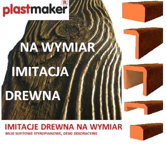 deski elewacyjne drewnopodobne panele belki profile styropianowe