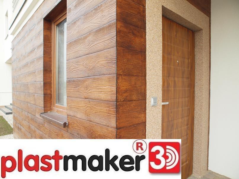 panele elewacyjne styropianowe imitacja drewna